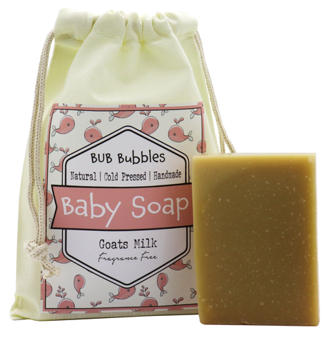 Baby Soap - Bub Bubbles - Pink