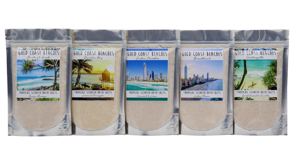 GOLD COAST - Broadbeach Bath Salts - Noosa Handmade