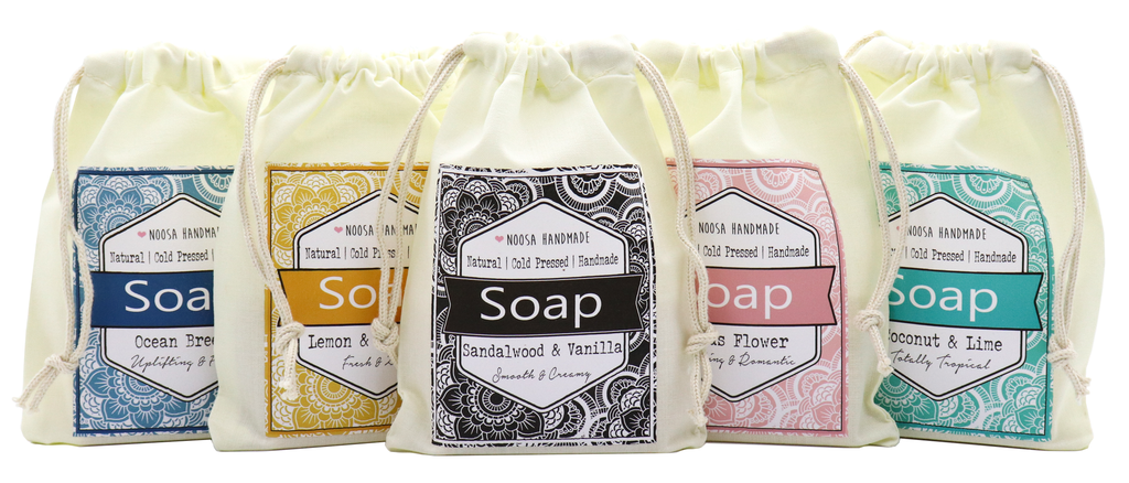 Senses Soap - Lemon & Pineapple - Noosa Handmade