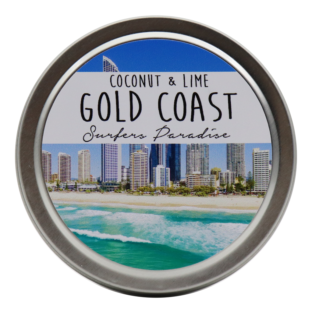 GOLD COAST - Surfers Paradise Tin Candles