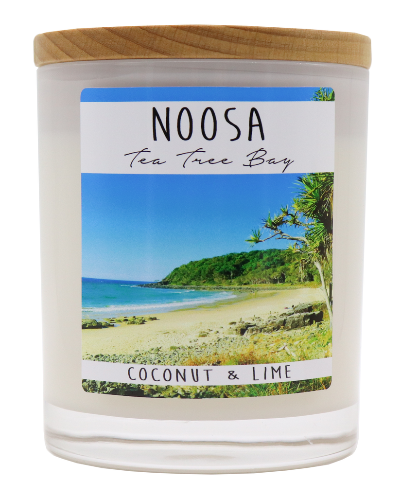 NOOSA - Tea Tree Bay Jar Candle - Noosa Handmade