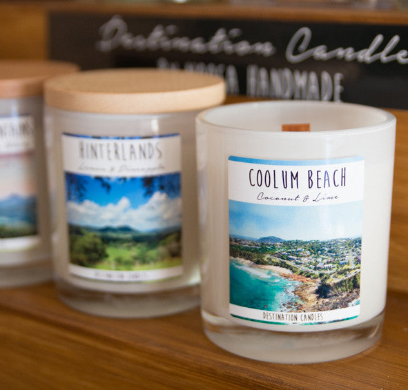Sunshine Coast Jar Candles - Noosa Handmade