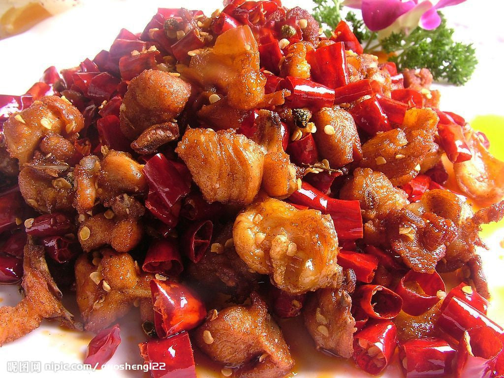 Chili Pepper Chicken | 辣子鸡