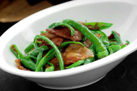 Stir-Fried Beef Slices with Green Peppers
