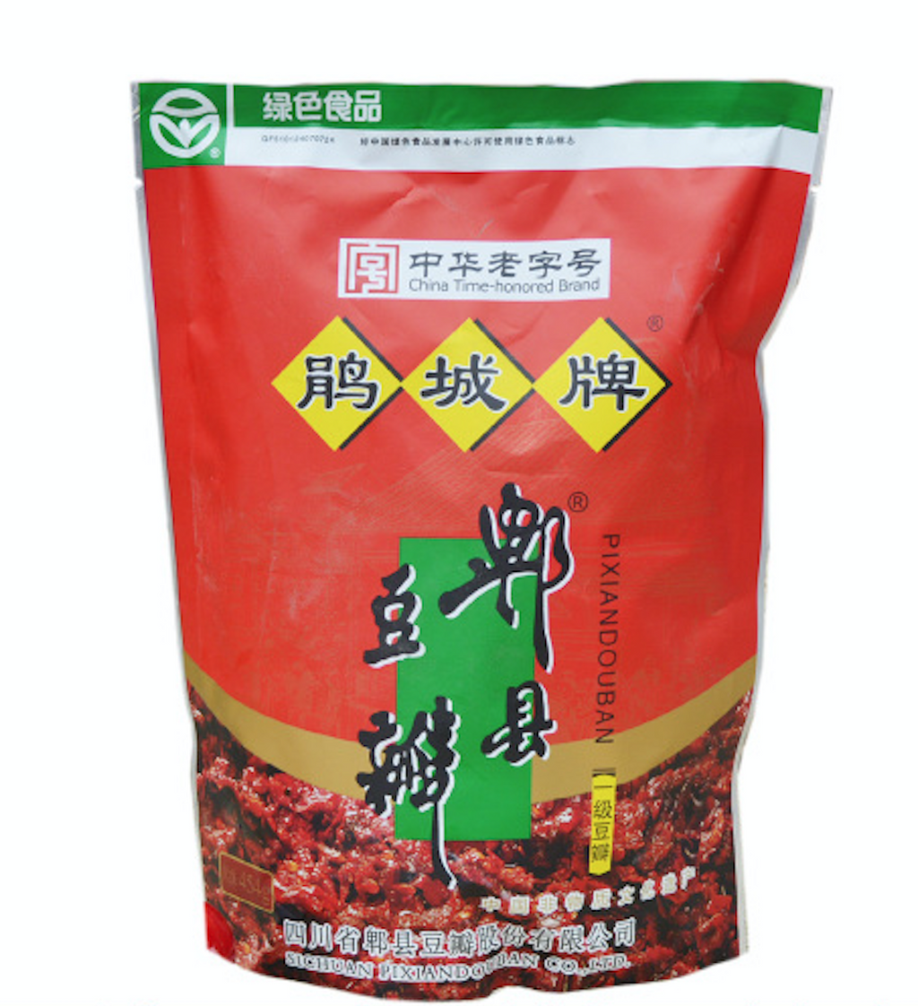 Juan Cheng Broad Bean Chili Paste (Pixan Douban) - First Grade, 16oz 鹃城一级郫县豆瓣454克