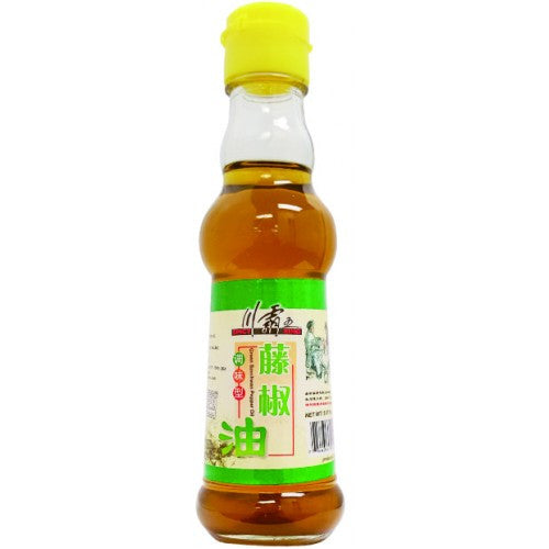 Spicy King Green Sichuan Peppercorn Oil (Tengjiaoyou) | 藤椒油 5.07oz