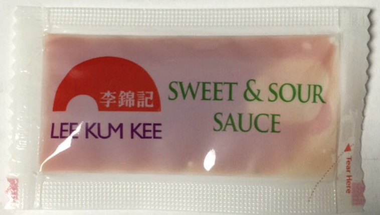 Lee Kum Kee Sweet and Sour Sauce Individual Packets |  李锦记甜酸酱独立小袋装 (500 Packets)