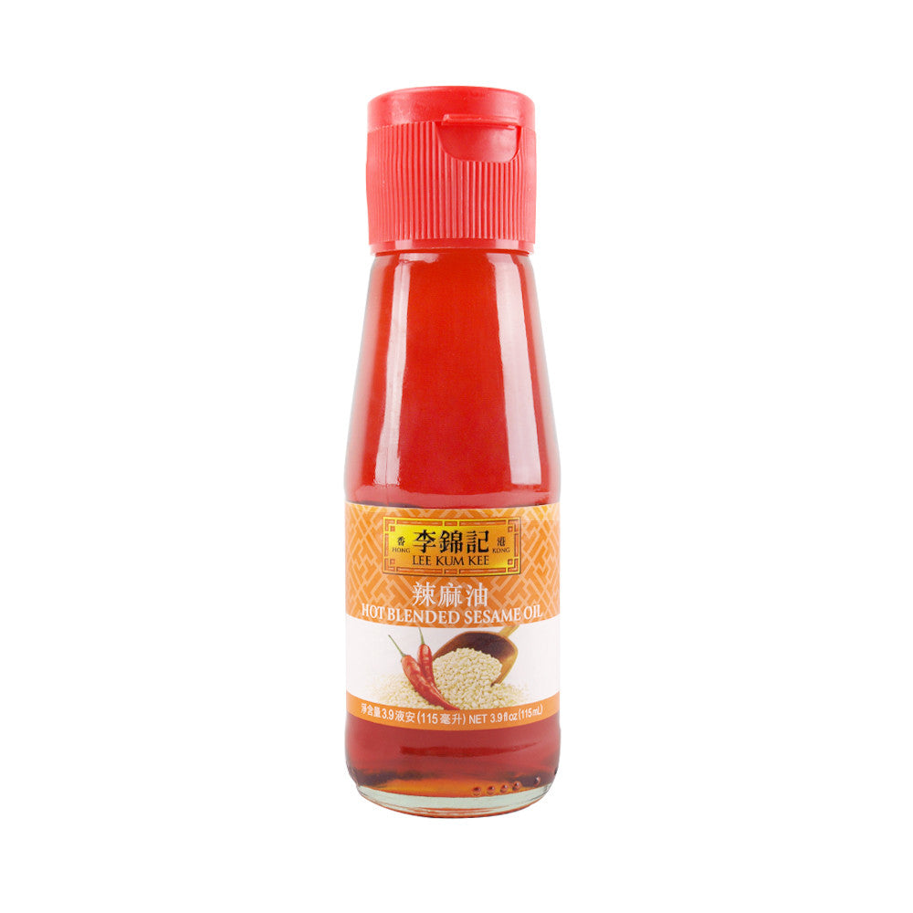 Lee Kum Kee Hot Blended Sesame Oil, 3.9 oz | 李锦记辣麻油