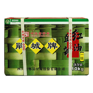 Juan Cheng Broad Bean Chili Paste with Oil - First Quality, 352oz, 一级红油豆瓣