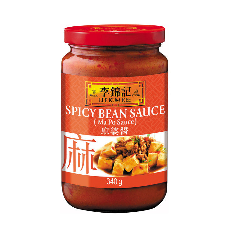 Lee Kum Kee Spicy Bean Sauce | 麻婆酱 8oz