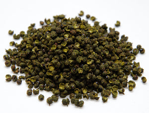 Premium Green Sichuan Peppercorns 3.5oz, 7oz 青花椒特级
