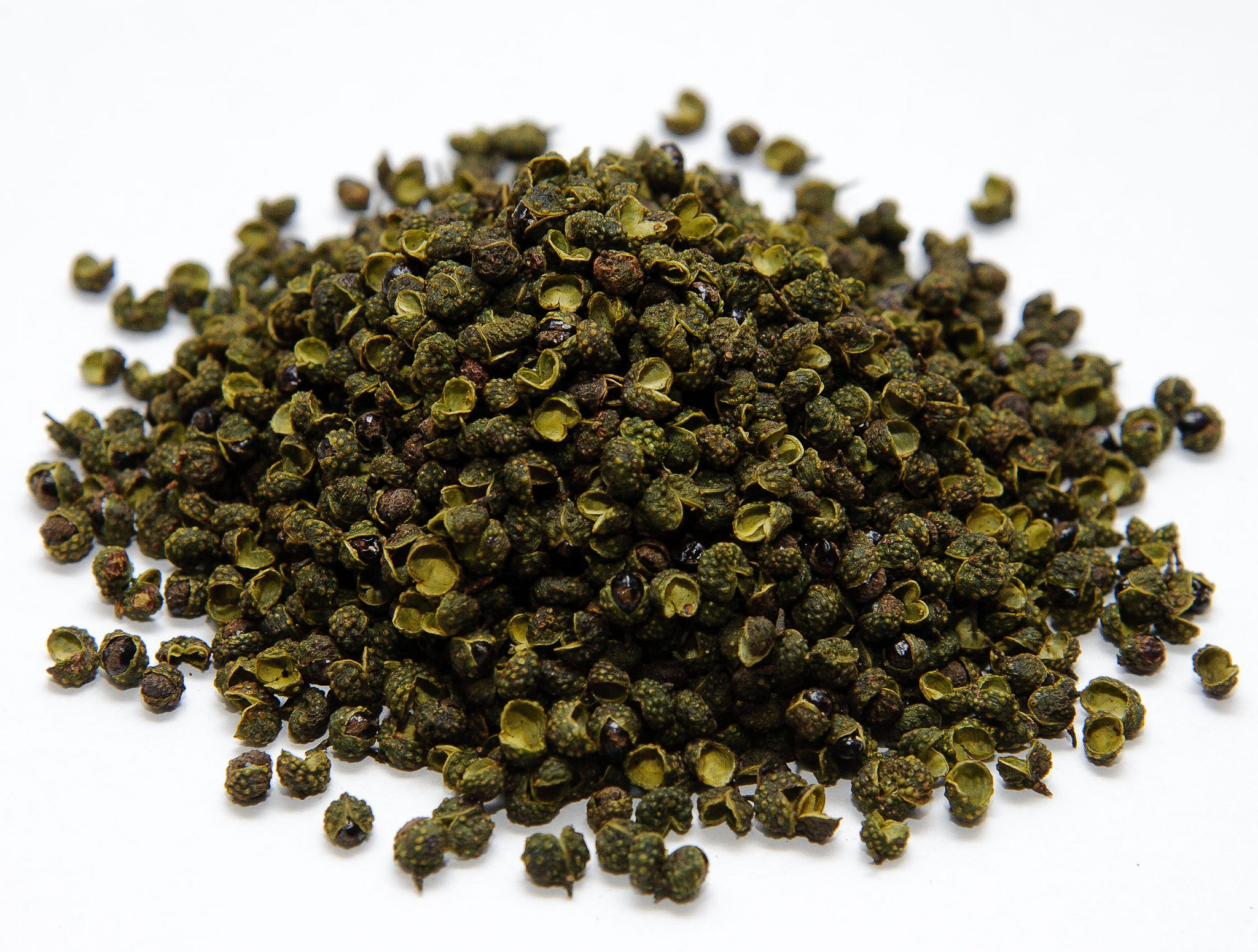 Shengchubao Green Sichuan Peppercorns -Top Quality 3.5oz, 7oz 青花椒