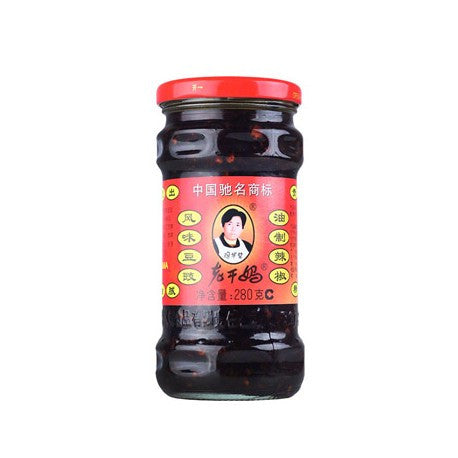 Lao Gan Ma Chili Oil with Black Bean |老干妈风味豆豉 9.88 oz