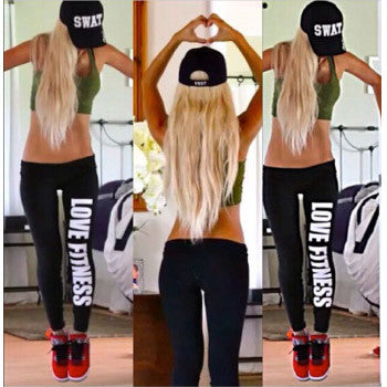 """Love Fitness"" Leggings"