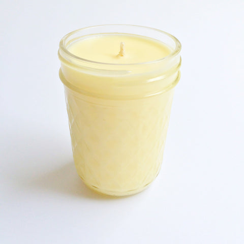 orange + cinnamon soy aromatherapy candle
