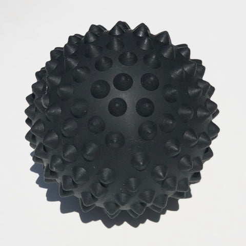 Black massage ball