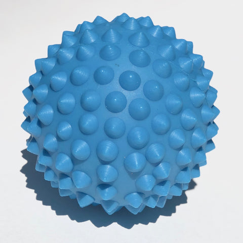 Blue massage ball