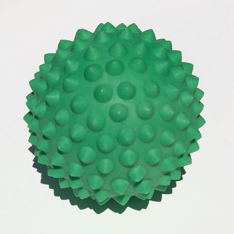 Green massage ball