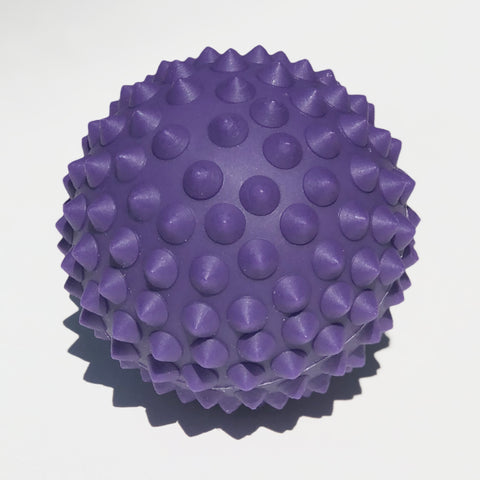 Purple massage ball