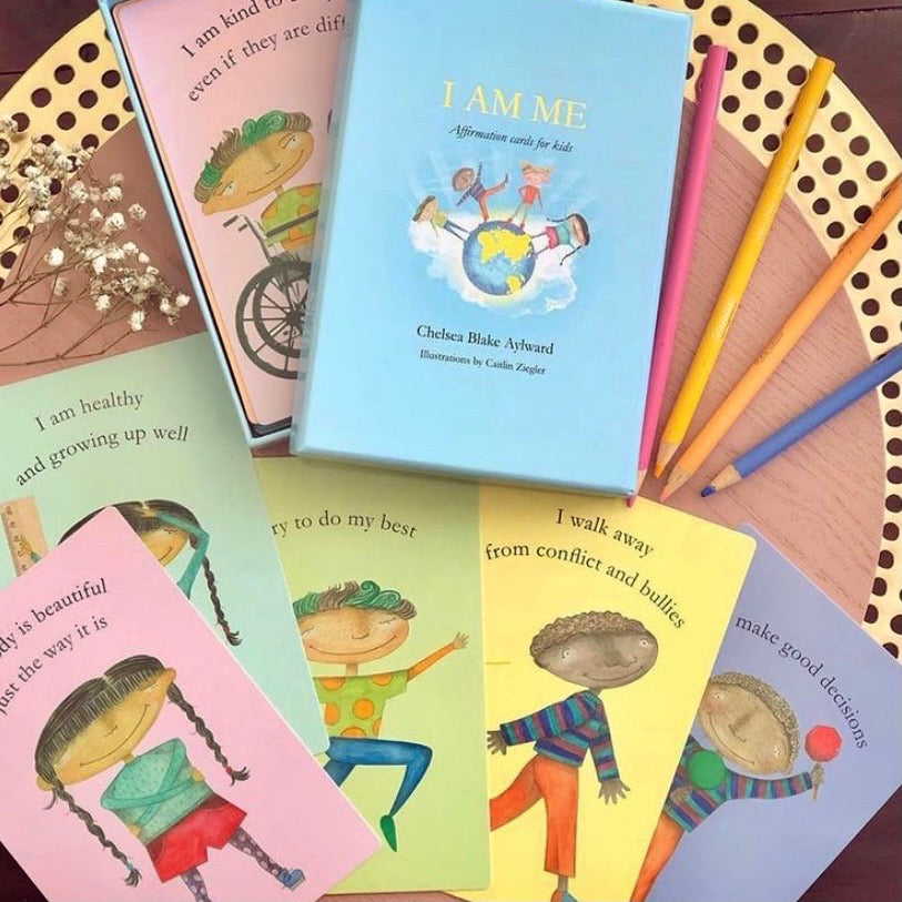 I am me affirmation cards for kids