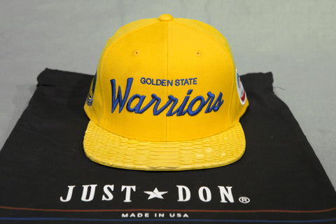 JUST DON WARRIORS SNAPBACK HAT