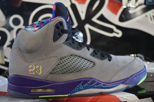 AIR JORDAN 5 RETRO BEL-AIR (WORN)