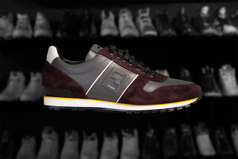 "FENDI LOW-TOP SNEAKER ""LOW MAROON"""