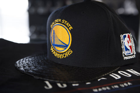 JUST DON WARRIORS 2015 FINALS NBA TROPHY SNAPBACK HAT