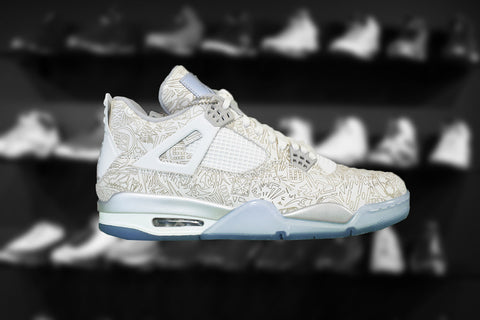 "2014 Air Jordan 4 Retro ""Laser"" (BG)  (Kids)"