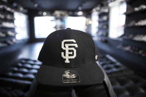 47 BRAND SAN FRANCISCO GIANTS SNAPBACK HAT BLACK