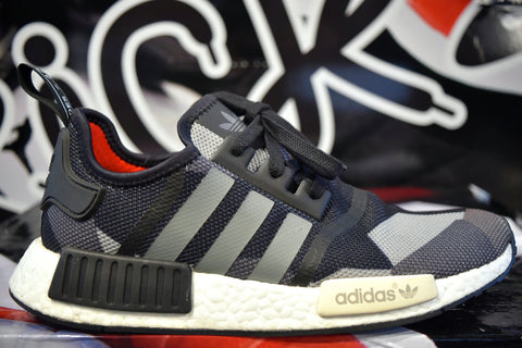 ADIDAS NMD R1 BLACK CAMO (WORN)(NO BOX)