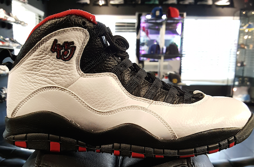 "AIR JORDAN RETRO 10 ""DOUBLE NICKLE"" WORN"