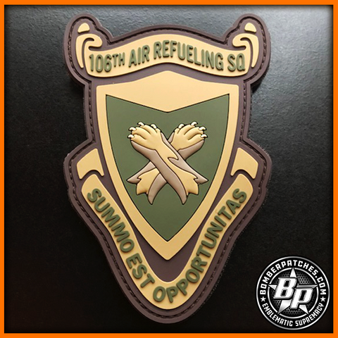 106TH AIR REFUELING SQUADRON PVC PATCH KC-135R OCP