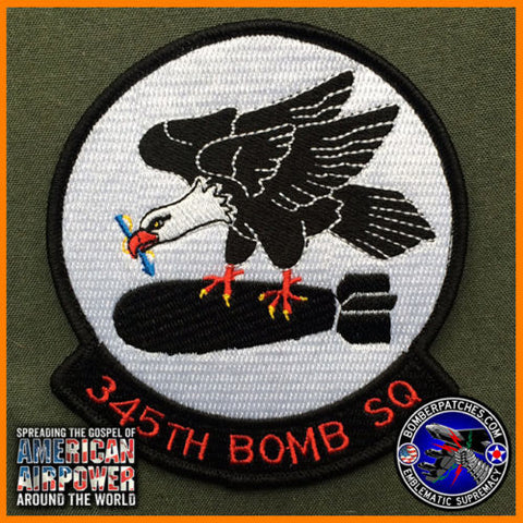 345th Bomb Squadron 307th Bomb Wing Patch