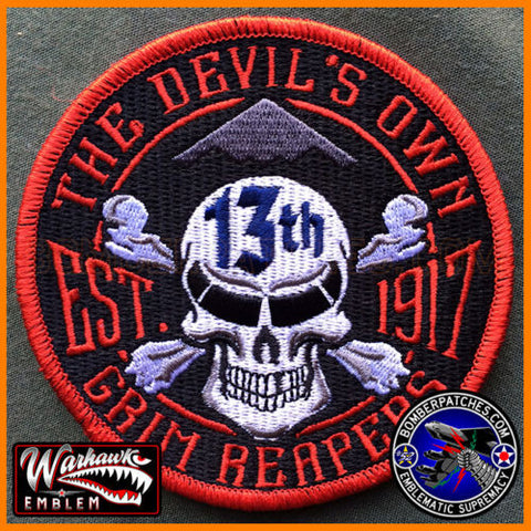13th Bomb Squadron FRIDAY Morale Patch