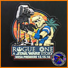 STAR WARS ROGUE ONE MESA PREMIERE PVC LIMTED EDITION PATCH