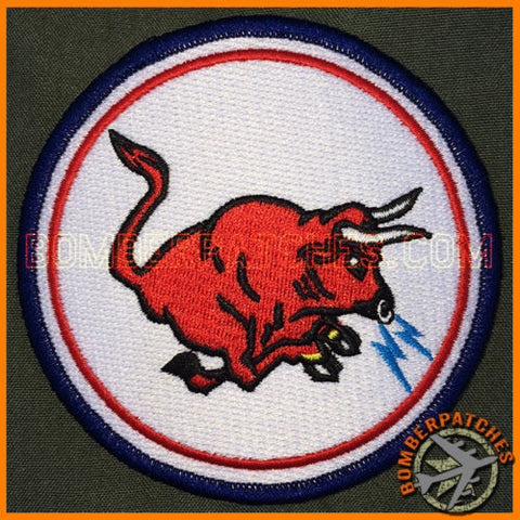 185th Air Refueling Squadron Heritage Patch