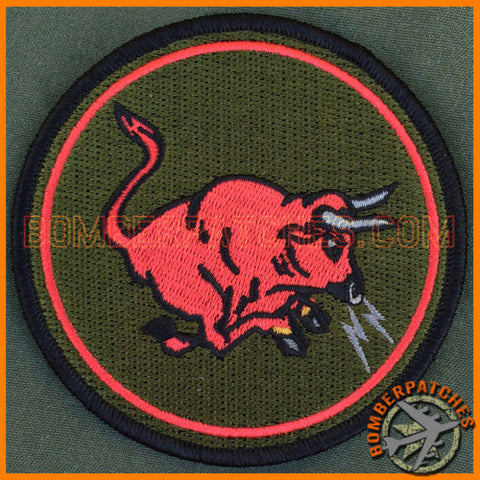 185th Air Refueling Squadron Subdued Heritage Patch