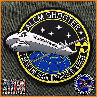 ORIGINAL AGM-86B ALCM SHOOTER PVC PATCH