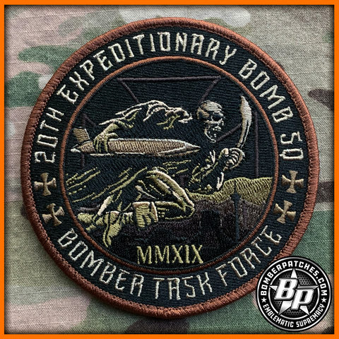"20th Expeditionary Bomb Squadron ""Bomber Task Force"" 2019 Patch"