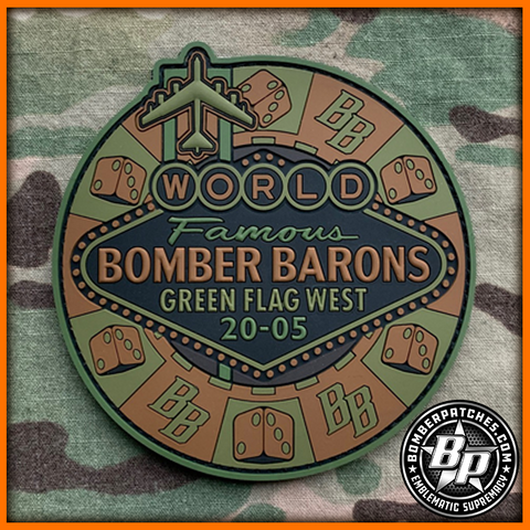 23D Bomb Squadron Bomber Barons Green Flag West 20-05, OCP