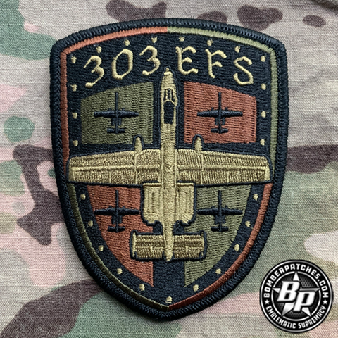 303 Expeditionary Fighter Squadron Deployment Patch 2020, OCP