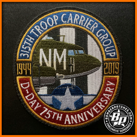 315th D-Day 75th Anniversary Patch (Limited Version)