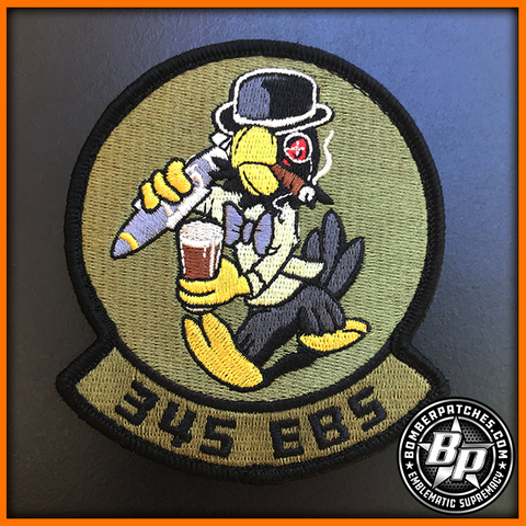 345th Bomb Squadron EBS 2018 Deployment Patch RAF Fairford