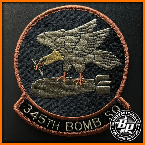 345th Bomb Squadron 307th Bomb Wing Patch OCP