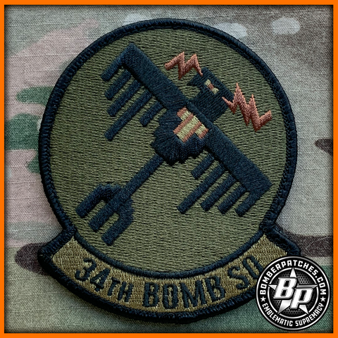 34TH Bomb Squadron OCP Patch