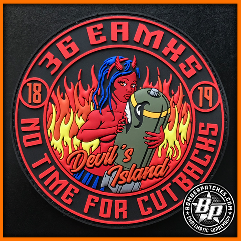 36TH EXPEDITIONARY AIRCRAFT MAINTENANCE SQUADRON, 96 EAMU 2018 2019 CBP DEPLOYMENT PATCH