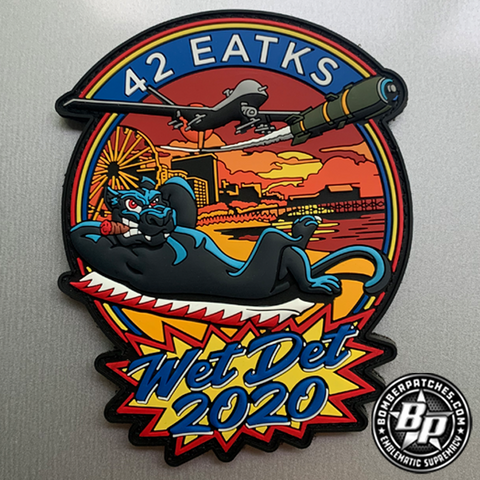 42nd Expeditionary Attack Squadron (EATKS) Wet Det 2020 PVC Patch