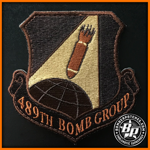 B-1B 489th Bomb Group 307th Bomb Wing Patch Desert