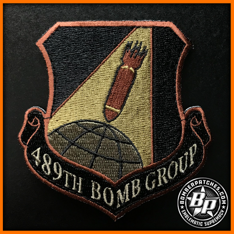 B-1B 489th Bomb Group 307th Bomb Wing Patch OCP